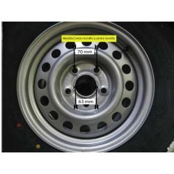 185-14 Wheel  5 holes