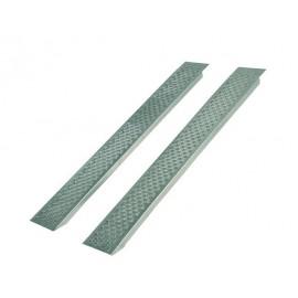 Rampas aluminio rectas 400 Kg Largo 2000mm