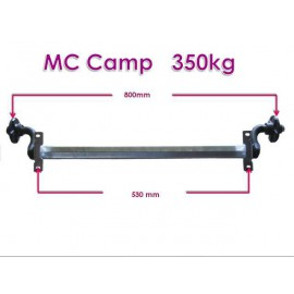 MC Camp unbraked axle