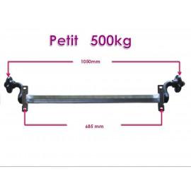 Petit unbraked axle