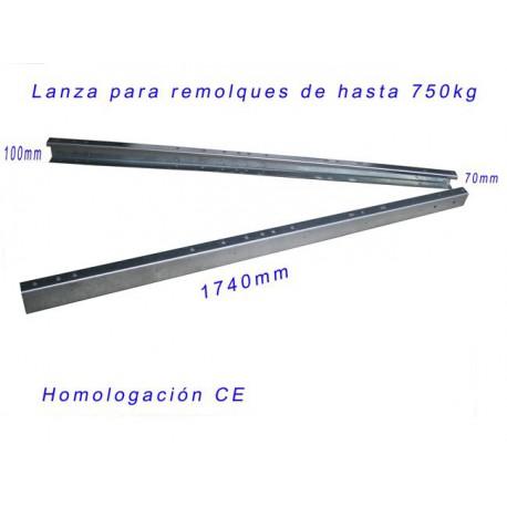 LANZA PARA REMOLQUES MAX 750 KG