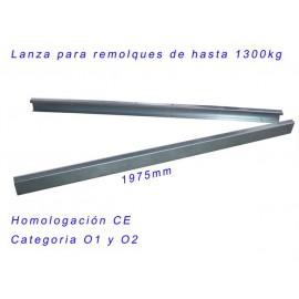 LANZA PARA REMOLQUES MAX 1300 KG