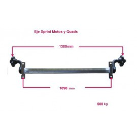 Sprint MotosIII/Quads 500 kg essieux