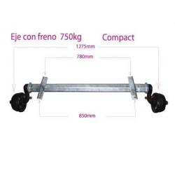 Eje C/F Compact      (1)  (GKN)