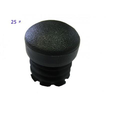 Tac de plàstic rodó 25mm diàmetre (10un)
