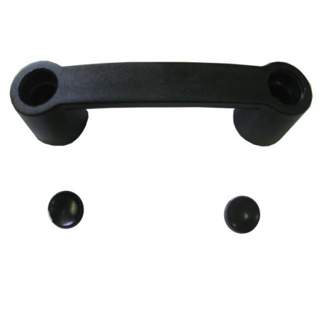 Handle black plastic