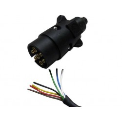 Cable  Electrico Negro de 7 de 0.75