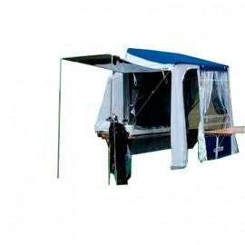 Petit Blue or desert camping trailer