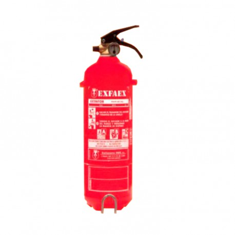 Portable fire extinguisher 2 kg ABC powder PL2