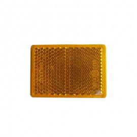 Rectangular Side amber adhesive catadioptric