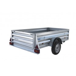 Industrial trailer 2500 with brake