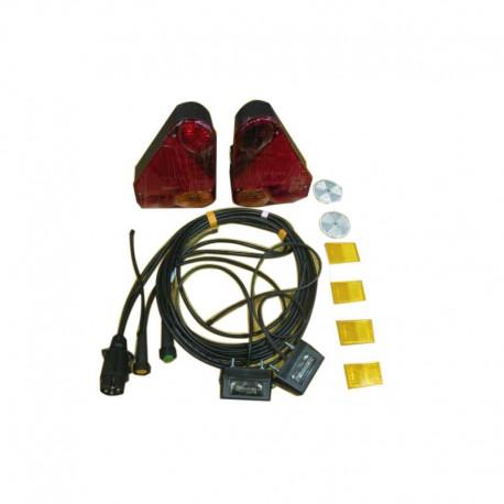 Kit eléctrico para remolques 3000X1670