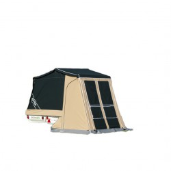 MC Camp Desert with brake camping trailer