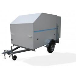 Remolque de carga Furgo 2500 con freno