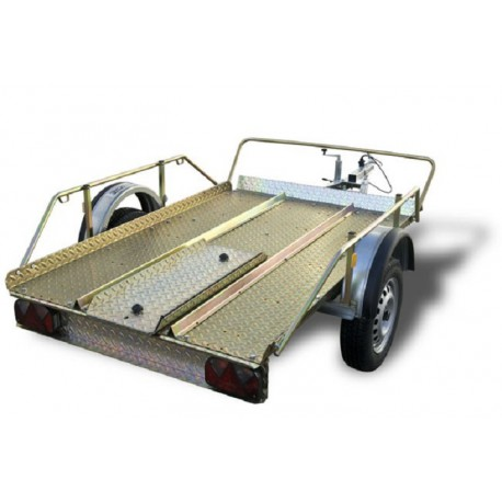 Trailer Quads Plataforma XL with brake
