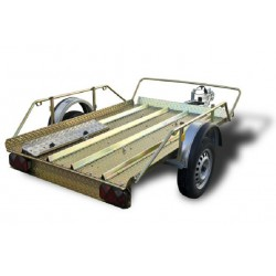 Trailer Motos III XL Plat with brake