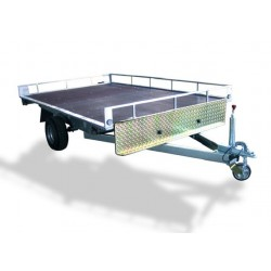 Trailer Plataforma 2 Quads with Brake
