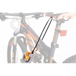 Antivol pour porta-vélos
