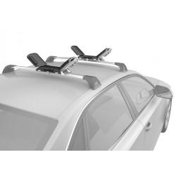 Saddle roller kayak carrier