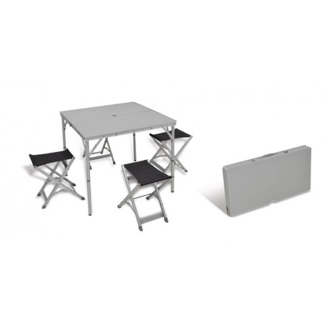 Table with 4 stools Ixeo