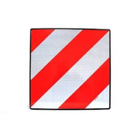 Placa señalización V20 metálica