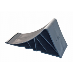 Black plastic Wedge with support