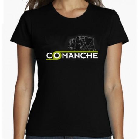 Camiseta COMANCHE negra para hombre