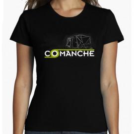 Camiseta COMANCHE negra para mujer