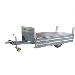Remolque industrial Paletizable 2500/F Volquete