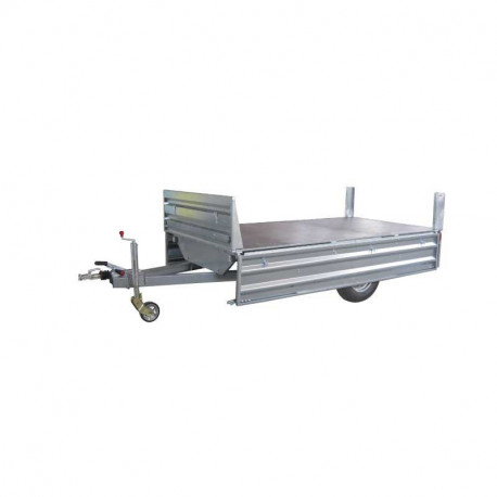 Remolque industrial Paletizable 3100/F Volquete