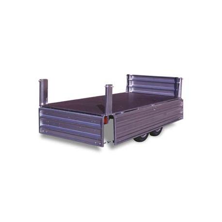 Remolque industrial Paletizable 4000TDM/F Volquete